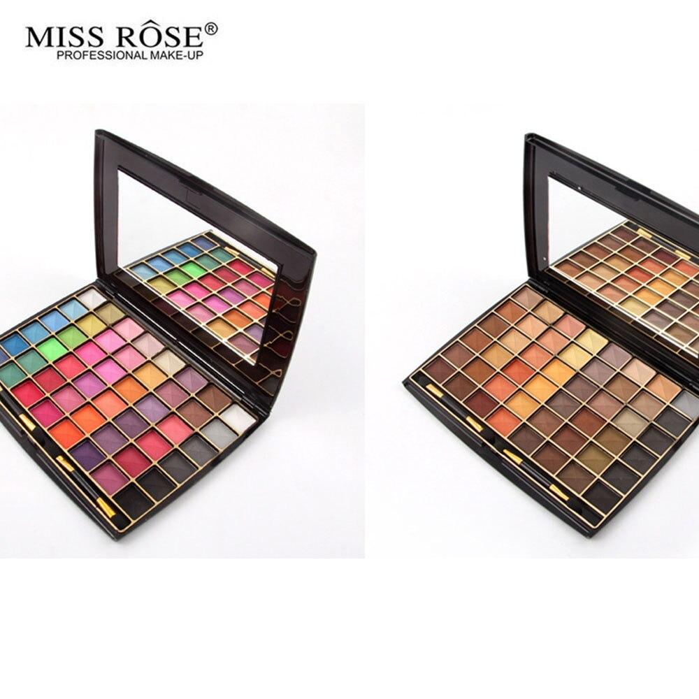 MISS ROSE 18 Colors Wet Eyeshadow Convex Long Lasting Easy
