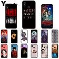 Yinuoda очень странные дела Рождественские огни чехол для телефона для Xiao mi Redm4X 6A 5A 7A Red mi чехлы для айфонов 5 5Plus Note8 8Pro 7 mi A1 A2Lite - фото