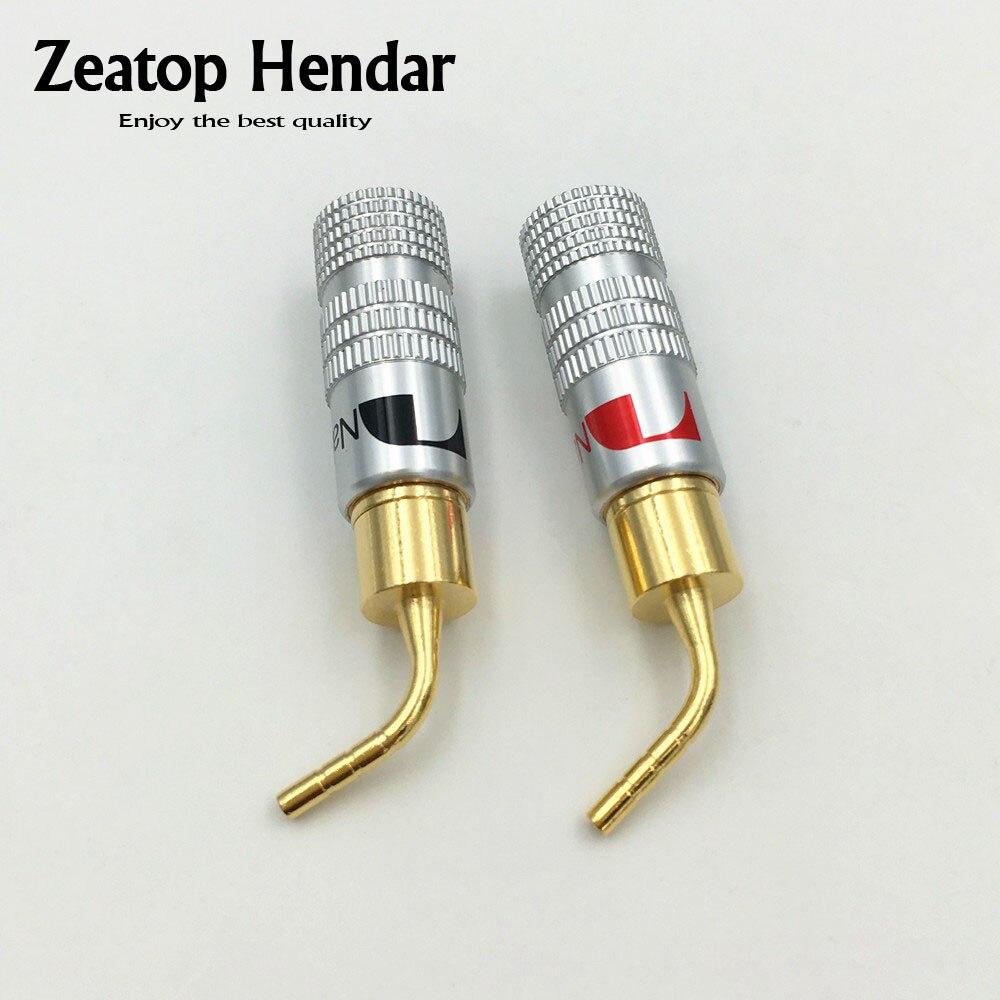 100pcs High Quality New 24k Gold Nakamichi Speaker Pin 2mm