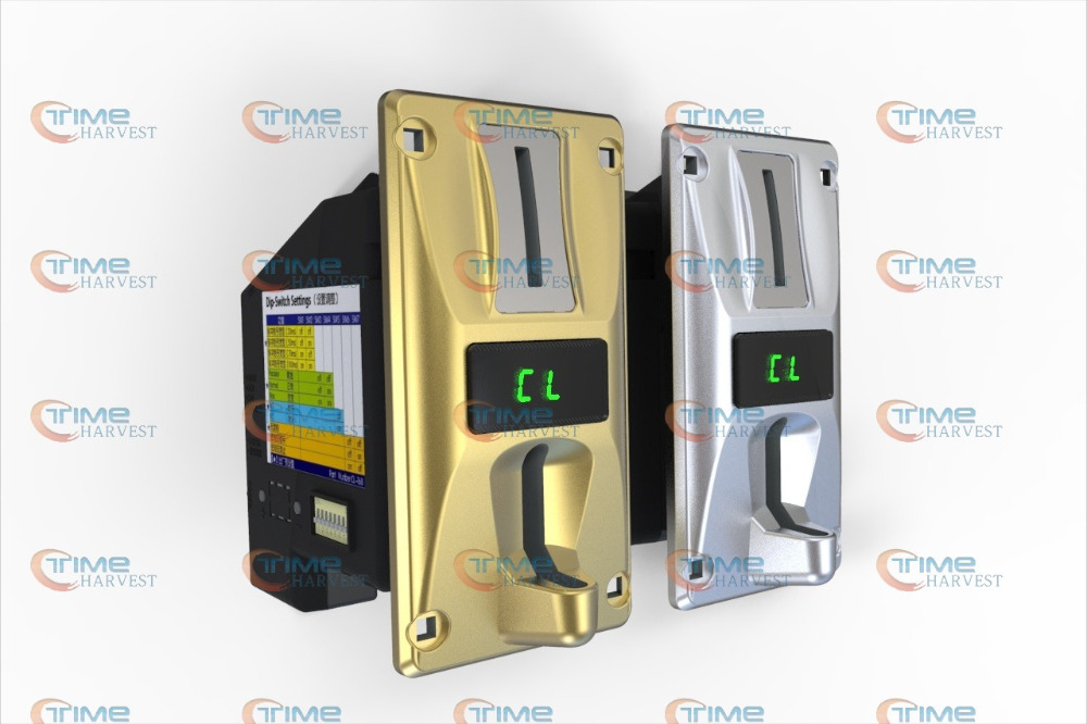 New Multi Coin operator 6 different coins for cafe kiosk , washing machine, water machine , massage chair , arcade game machine