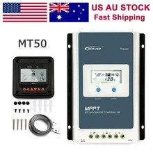 EPEVER 10A 20A 30A 40A MPPT Solar Laderegler 12 V/24 V Auto Remote Meter MT50 Fit Für lithium Batterie Negative Boden LCD