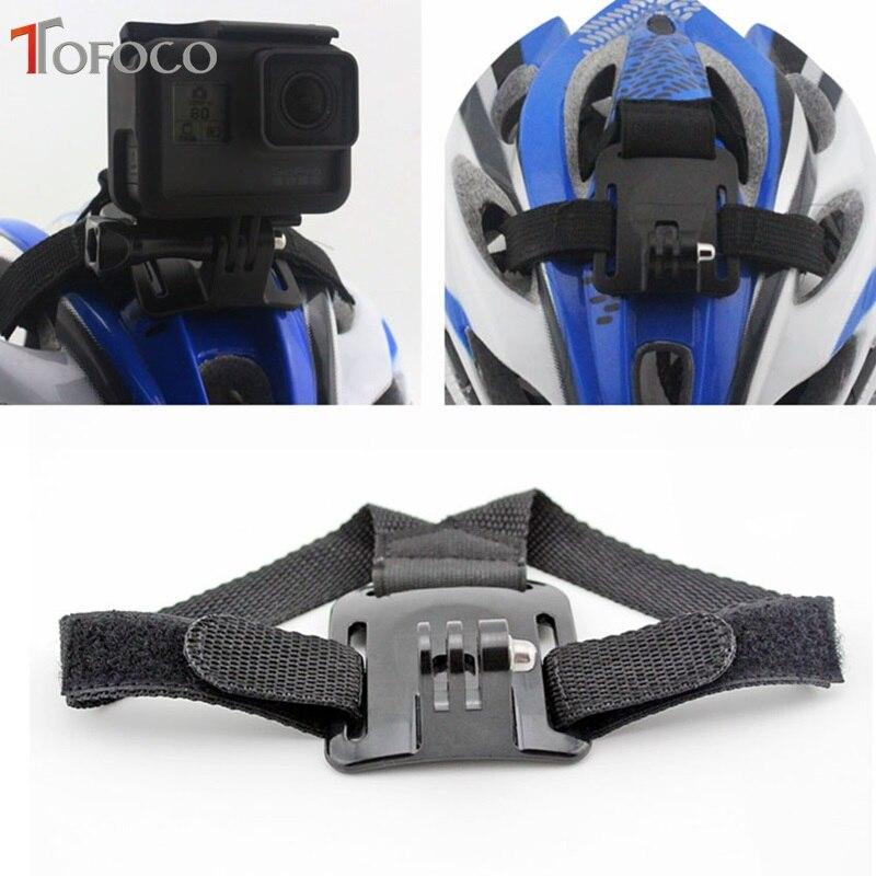 TOFOCO For Gopro Helmet Head Strap Cinturón Cámara Cámara Fija - Cámara y foto - foto 6