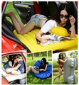 Free Shipping Car Air Mattress Travel Bed Car Back Seat Cover Inflatable Mattress Air Bed Good Inflatable Car Bed For Camping