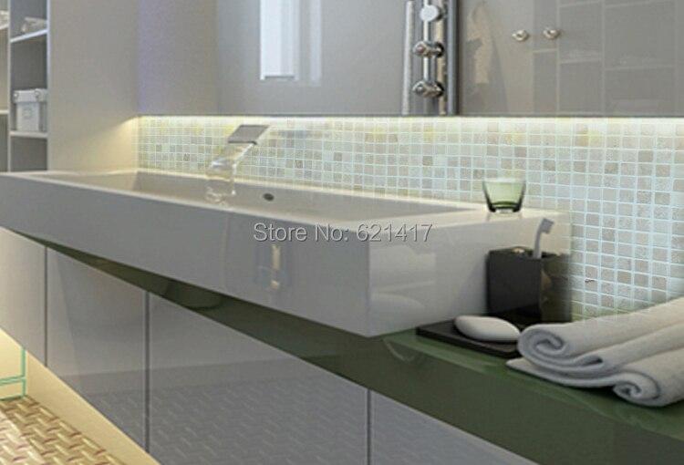 Color crema pietra di marmo a mosaico piastrelle cucina o