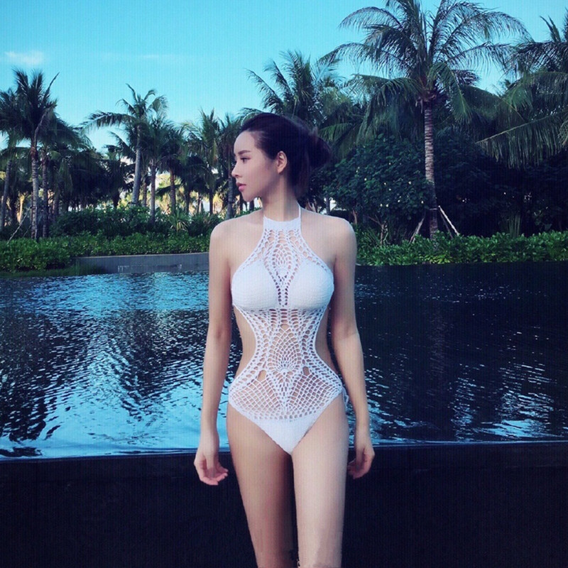 2018 one piece suits swimsuit sexy lace strap lady swimwear women swimsuit soft cup mesh solid patchwork stripe bikinis new cool 2017 new sexy one piece swimsuit strappy biquini high waist one piece swimwear women bodysuit plus size bathing suits monokinis