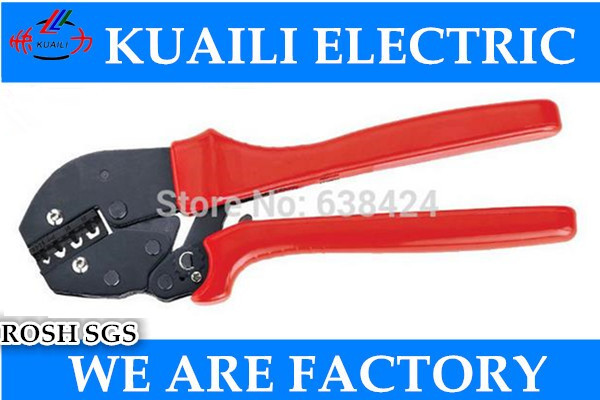 AP-1016 New Generation of Energy Saving Crimping Pliers Capacity 1.0-16mm2 20-5AWG For Non-insulated Terminals Free shipping  multi tool ferramentas tool vh5 12 new generation of energy saving pliers for aluminum casing 10 7awg 6 8 10mm2