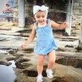 Kamimi летний ребенок ползунки толстовки хлопок европа стиль ползунки для мальчики девочки 7 - 24 м комбинезоны девочка одежда A004