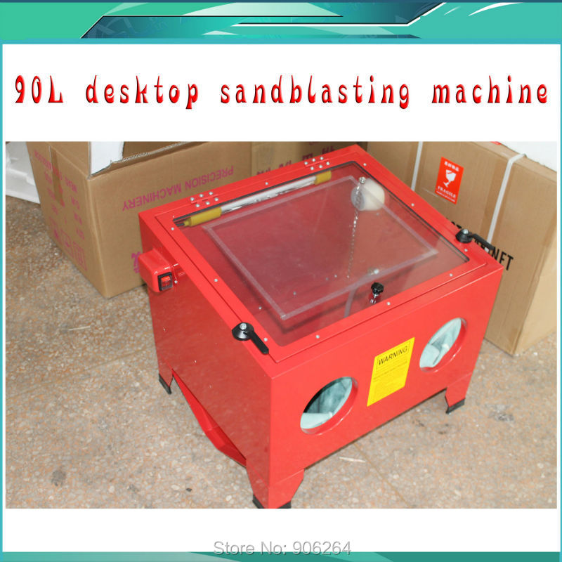 220V/110V Portable sand blasting machine, jewelry Small Sandblasting Machine, Dental Tools , sandblaster for glass high quality 2pcs 3x20x35mm dental sand blasting cabinet sandblasting nozzle