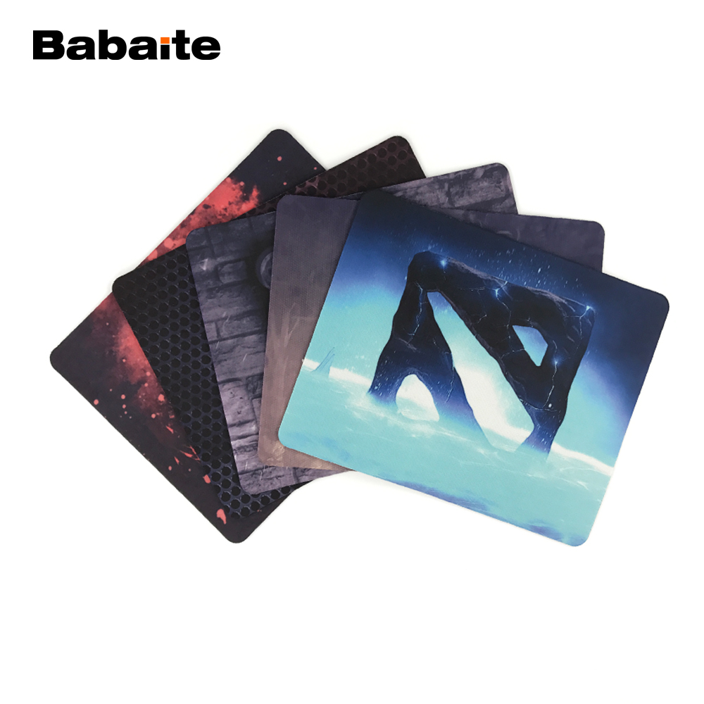 Babaite Games theme Dota 2 mouse pad S 180*220*2mm or 250*290*2mm Gaming Mouse pad PC Computer Laptop Gaming Mice Play Mat l 15 gaming mouse pad mat black 213 x 270 x 2mm