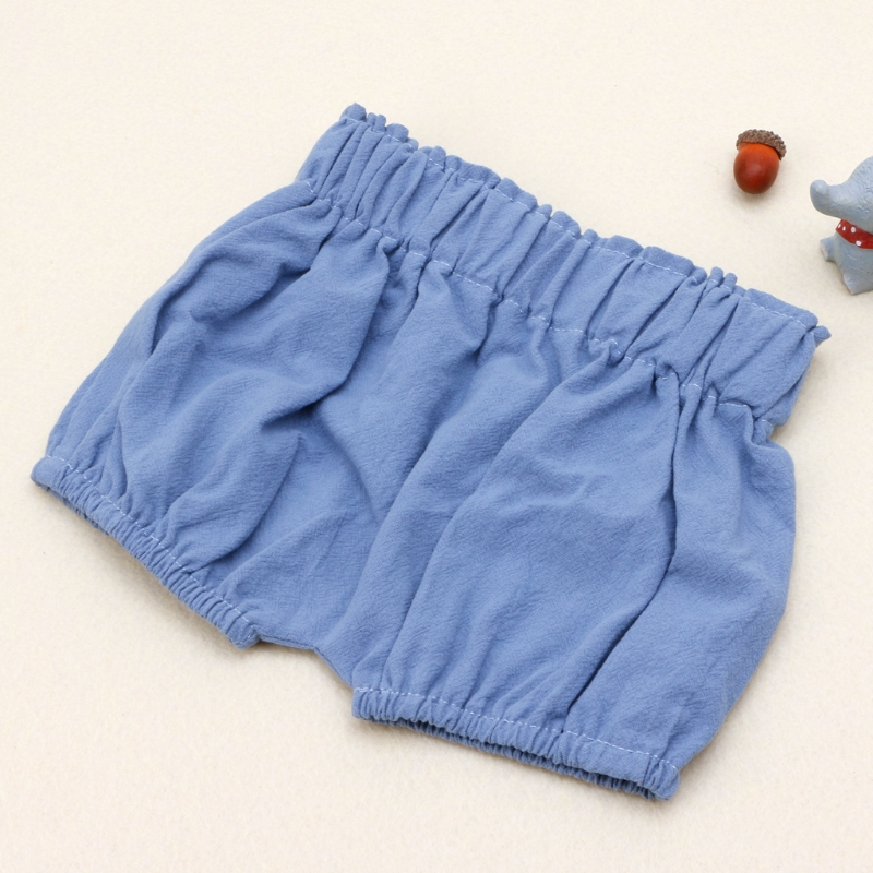 KLV 2018 Baby Boy Girls Cotton   Shorts   Infant Ruffle Bloomers Toddler Summer Panties baby girl summer clothes