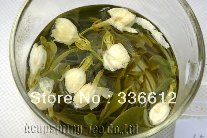100g/4oz Premium Jasmine Flower Anji White Tea, Anji Bai Cha, Tea,A3CLA02M, Free Shipping 500g 1lb premium jasmine flower anji white tea anji bai cha tea a3cla02m free shipping