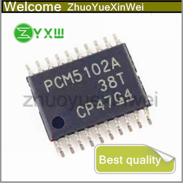 1 шт./лот 100% Новый оригинальный PCM5102APWR PCM5102APW PCM5102A PCM5102 TSSOP20 IC чип