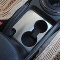 Para KIA Sportage R 2012 2013 2014 2015 estilo do carro de Aço Inoxidável tampa xícara de água decorativo