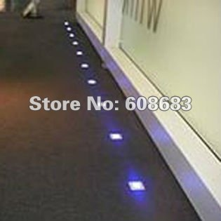 floor lighting led. Interior Square Floor Light Walk Over LED Lamp: 30pcs 0.6W Lights\u00265pcs 8W Driver With 6 Way Junction Box-in Underground Lamps From Lights Lighting Led O