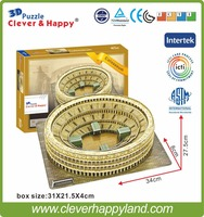 3d architecture puzzle model Colosseum (Italy) bullring model jigsaw puzzle