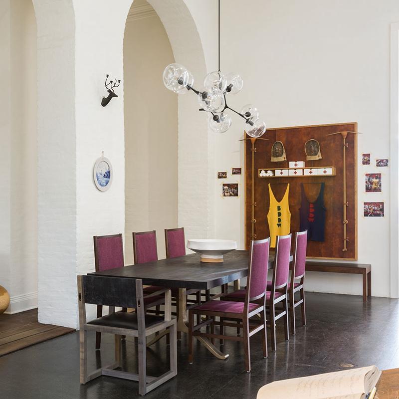 9 Licht Glas Led Kronleuchter Restaurant Kreative Persnlichkeit Moderne Wohnzimmer Lampe Bar Halle Dekoration Mit
