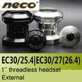 Neco гарнитура без резьбы 1 дюйм EC30/25,4 EC30/27 мм 27 26,4 26,4 мм высота 29 мм внешний подшипник стальные гарнитуры 30 мм