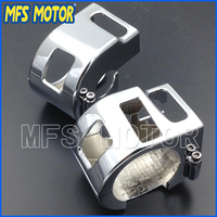 Motorcycle Accessories For Kawasaki 1999 2008 Vulcan 1500 1600 All Models CHROME Motorcycle Switch Housing Cover