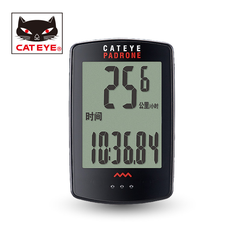 CATEYE CC-PA100W Waterproof Stopwatch Cycling Bike Bicycle Computer Odometer Speedometer Accessories With 7 Functions 2 Colors bryton rider 530 gps bicycle bike cycling computer