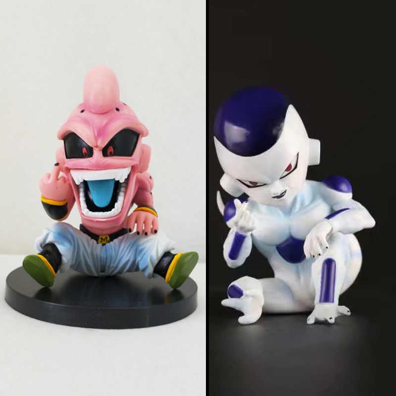 12 centímetros Kid Brinquedo Boo Majin Buu Figura Freeza Dragon Ball Z Anime Boneca Modelo boneca de Presente para a coleta de Crianças anime dos desenhos animados modelo