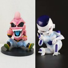 12cm Dragon Ball Z Kid Buu Figure Toy Majin Boo Frieza Anime Model Doll Gift for Children collection doll anime cartoon model