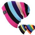 Unisex Women Warm Winter Baggy Beanie Knit Crochet colorful Oversized Hats Slouch Ski Cap