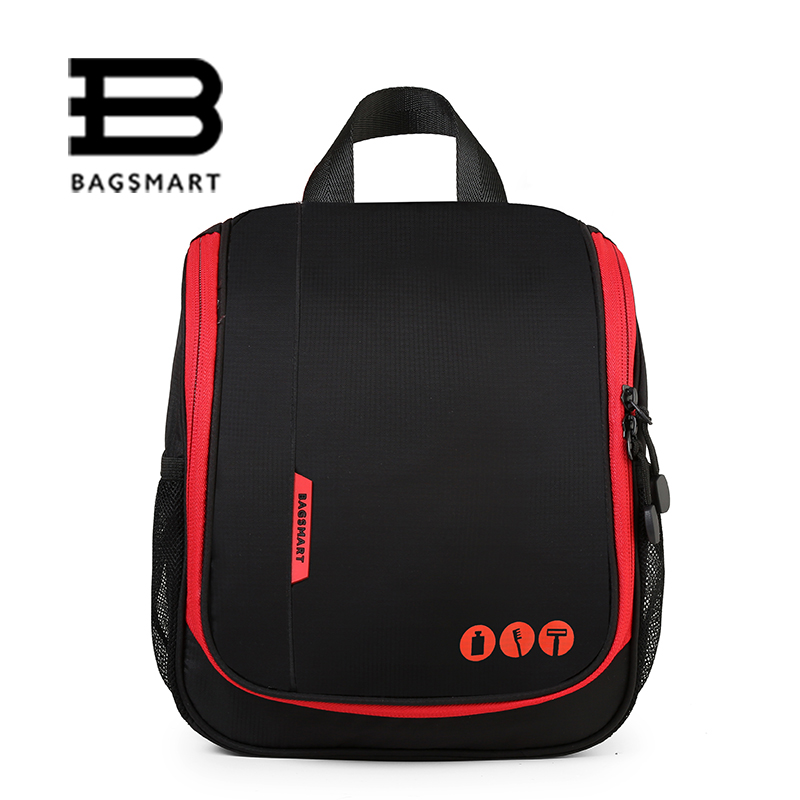 BAGSMART Unisex Toiletry Bag Portable Toiletry Kit Large Capacity Dopp Kit For Cosmetic Organize Travel Make Up Bags Waterproof ...