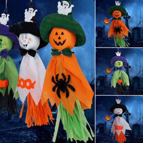 Halloween Ghost Hanging Decoration Indoor/Outdoor Specter Party Ornament Utility