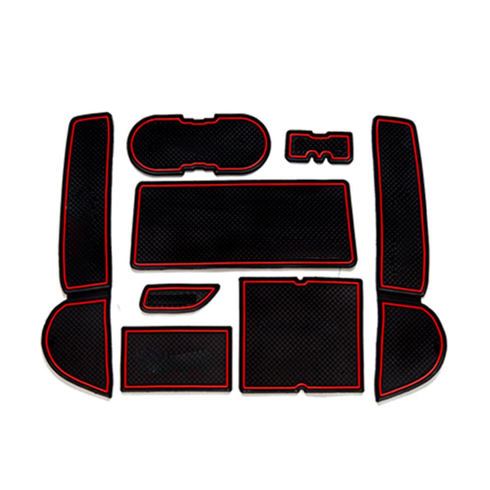 For Mazda 6 gh 2008-2013 Gate Slot Mat Rubber Anti-Slip Mat or Mazda 6 2008~2013 GH Anti-Slip Rubber Cup Mats Gate Slot Mat 2009