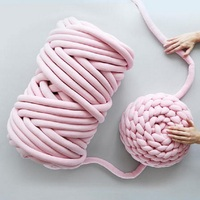 mylb 1000g/Ball Super Thick Natural Wool Chunky Yarn DIY Bulky Arm Roving Knit Blanket Hand Knitting Spin Yarn DIY Blanket 60m