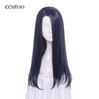 Ccutoo 35cm Red Short Shaggy Layered Synthetic Game Film Hair Cosplay Costume Wigs Peluca Heat Resistance