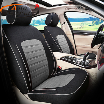 AutoDecorun Custom Fit Cover Seat Set for Volvo c30 Cars Seat Covers Cushion Supports Automobiles Cover Car Interior Accessories