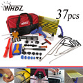 37pcs Paintless Dent Repair Master - PDR Tools Set PDR Rods Dent Hammer Gule Gun Pdr Line Borde