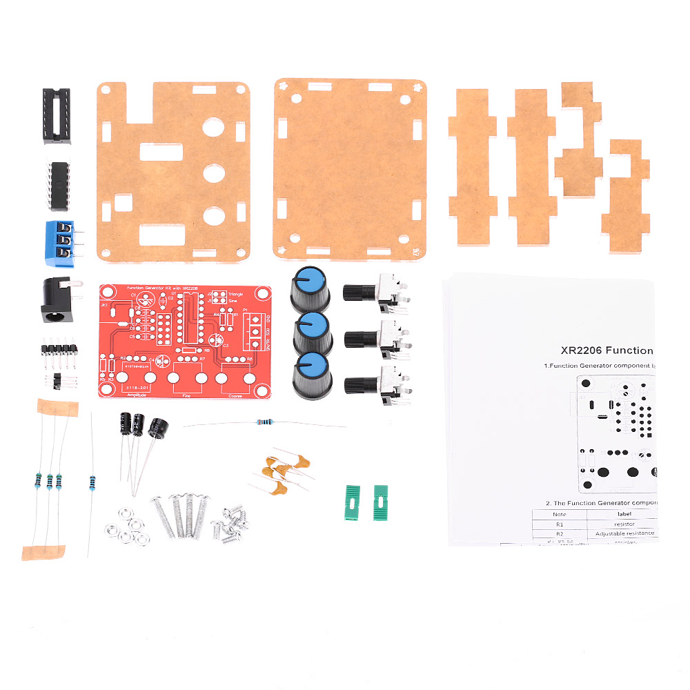 High Precision Function Signal Generator Kit Sine//Triangle//Square for XR2206
