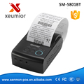 Последние 58 мм Android Bluetooth Термопринтер Мобильный Принтер Мини Принтер SM-5801BT