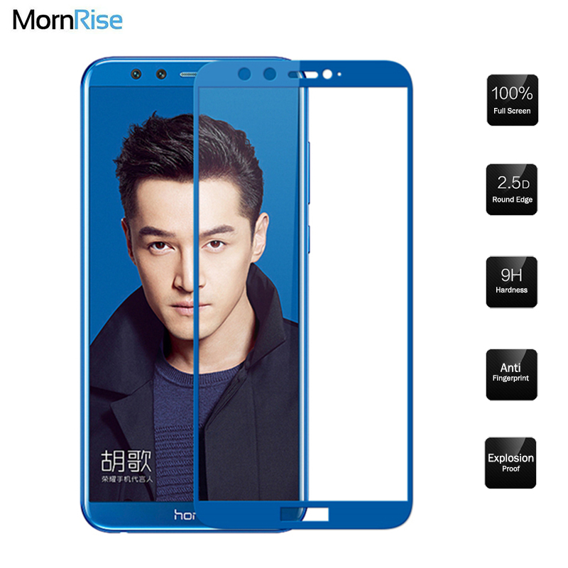 0.26mm Full Cover Tempered Glass Film For Huawei Honor 9 Lite light Glass Screen Protect ...