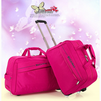 Large capacity Men's Trolley Bag Easy to carry High Quality 20 Liters Outdoor Wheeled Travel Bag Ladies Leisure Aircraft Bag