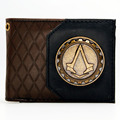 Assassins Creed Logo brown/black  Bi-Fold Wallet DFT-1985