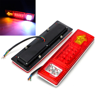 ITimo 1 Pair High Quality LED Car Turn Signal Lights Super Bright Car Brake Lamps Auto
