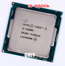 Cpu de escritorio i5, 6600 k, i5 6600k, 3,5 ghz, lga1151, scrattered pizas, 14nm, 95 w, quad core, procesador