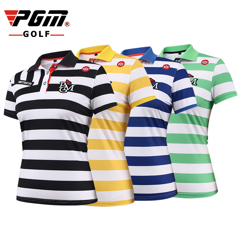Us 6758 Pgm Golf Polo T Shirt Vrouwen Polyester Elasticiteit Merk Ademend Anti Zweet Vrouwen Golf Sport T Shirt Kleding Gratis Verzending In Pgm