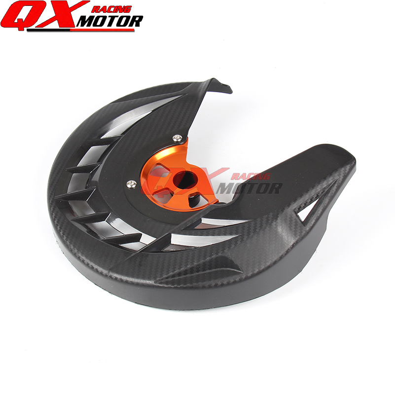 Motorcycle Front Brake Disc Rotor Guard Cover Protector Black Fit KTM SX SXF XC XCF EXC