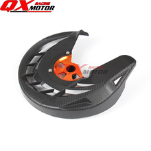 цена на Motorcycle Front Brake Disc Rotor Guard Cover Protector Fit KTM SX SXF XC XCF EXC EXCF 125 200 250 300 350 450 530