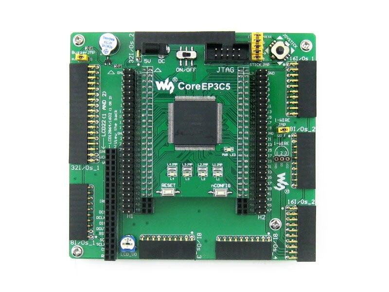 Waveshare EP2C5 EP2C5T144C8N ALTERA Cyclone II FPGA Development Board = OpenEP2C5-C Standard Free Shipping