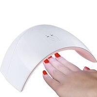 Cndes 36 Вт светодиодные УФ-лампы для ногтей 12 светодиодов ногтей сушилка для все гели с 30 s/60 s кнопка идеальный Thumb решение Сушилки для ногтей Ге...