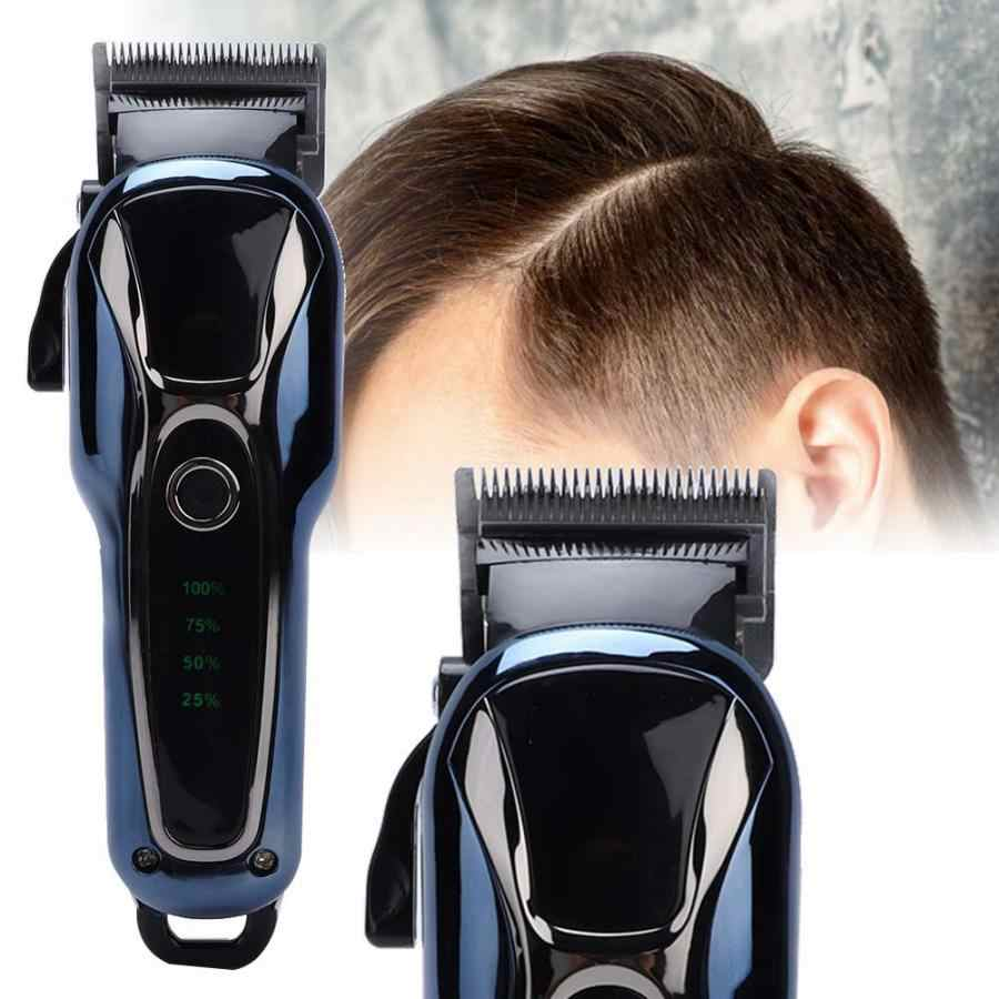 Barber Powerful Hair Clipper Professional Hair Trimmer For Men Electric Cutter Hair Cutting Machine Haircut Salon Styling Tool