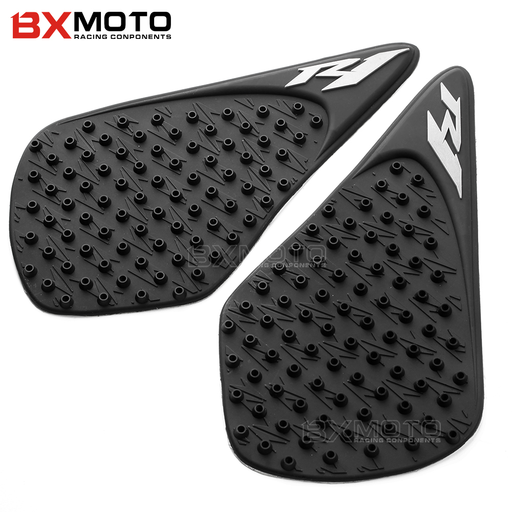For Yamaha YZF <font><b>R1</b></font> YZFR1 <font><b>2007</b></font> 2008 Motorcycle accessorie Anti slip Tank Pad 3M Side Gas Knee Grip Traction Pads Protector Sticker image