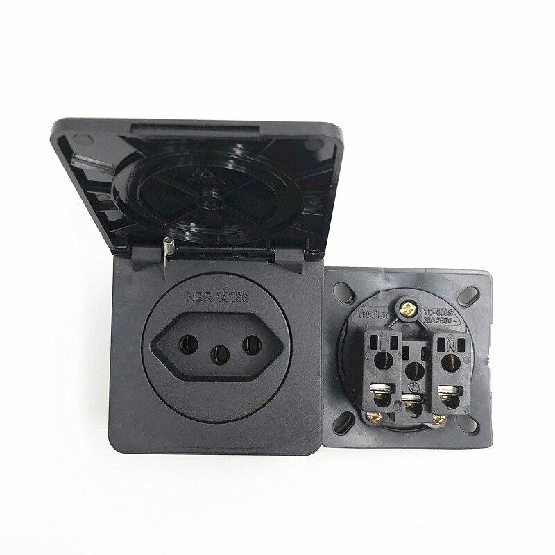 Aliexpress.com : Buy Black Square black Brazil standard ...