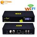 2016 NUEVO Cable de Tv Por Satélite Receptor DVB-S2 DVB-T2 Wifi Bluetooth 1G 8G Android 4.4 Tv Box Soporte Cccam IPTV Reproductor Multimedia Inteligente