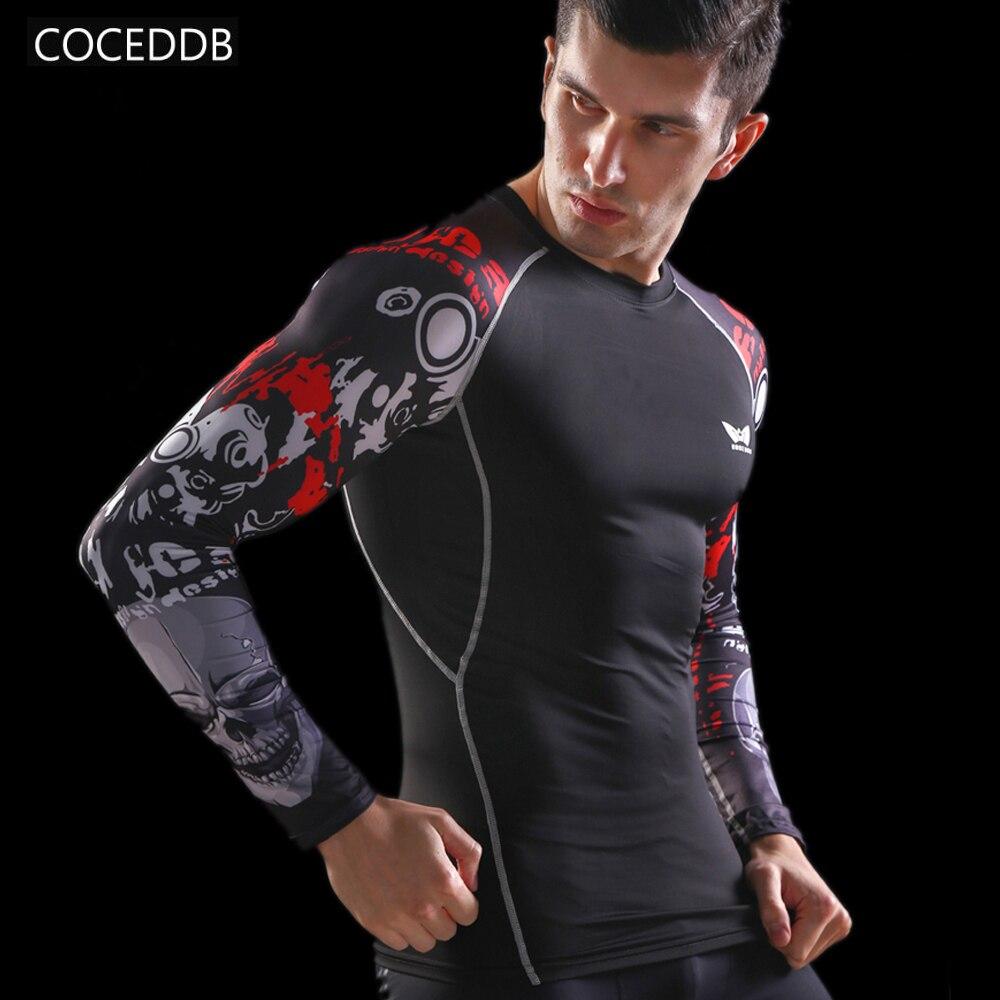 Camisas de compresión para hombre Piel ajustada térmica bajo mangas - Ropa de hombre - foto 1